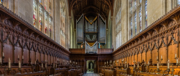 New College Chapel Interior 3 Oxford UK   Diliff